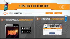 Jumia Mobile Week Steps